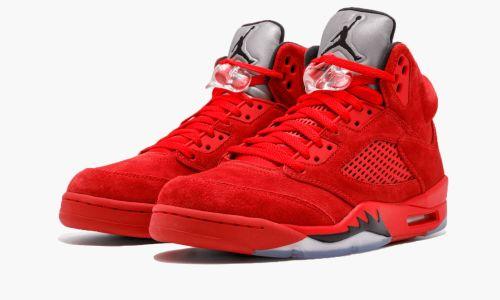 Air Jordan 5 Retro  Red Suede