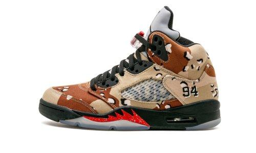 Air Jordan 5 Retro Supreme  Camo