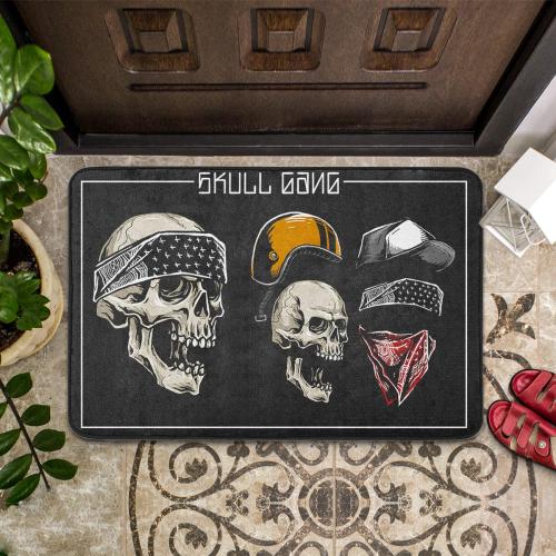 Skull Gangs Lifestyle Mat