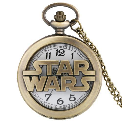 Star Wars Pocket Watch with Chain