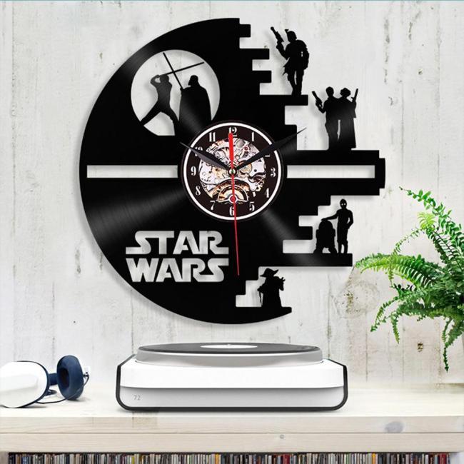 Star Wars Death Star Designed Wall Clock