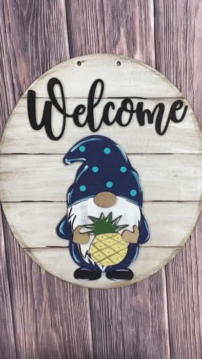 Gnome Door Hanger(19pcs)