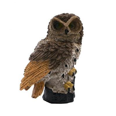 Solar Owl Garden Lamp