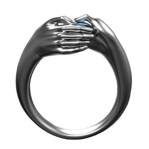 Hug Sapphire Ring