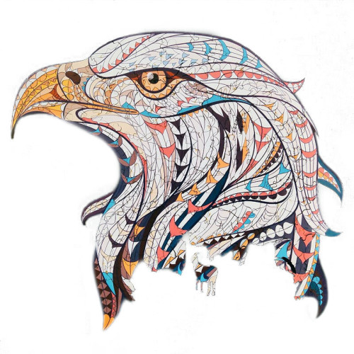 EAGLE WOODEN PUZZLE(Buy 2 Get 4 Free Random)