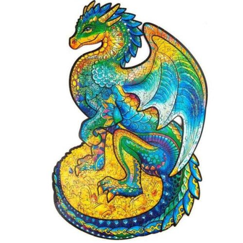 DRAGON WOODEN PUZZLE(Buy 2 Get 4 Free Random)