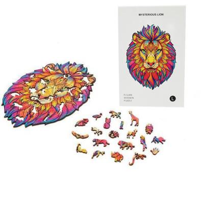 LION WOODEN PUZZLE(Buy 2 Get 4 Free Random)
