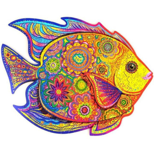FISH WOODEN PUZZLE(Buy 2 Get 4 Free Random)