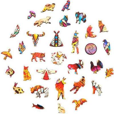 LYNX WOODEN PUZZLE(Buy 2 Get 4 Free Random)