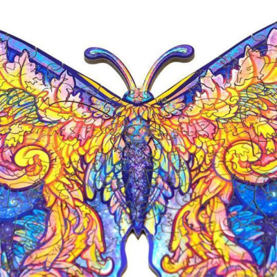 BUTTERFLY WOODEN PUZZLE(Buy 2 Get 4 Free Random)