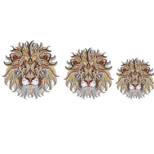 LION-C WOODEN JIGSAW PUZZLE(Buy 2 Get 4 Free Random)