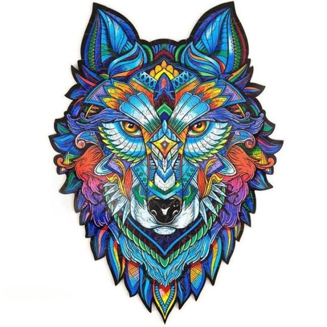 WOLF WOODEN PUZZLE(Buy 2 Get 4 Free Random)