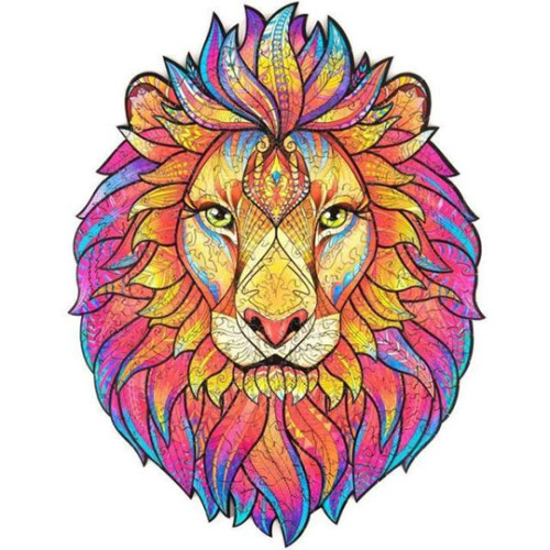 LION WOODEN PUZZLE(Buy 2 Get 4 Free Random)
