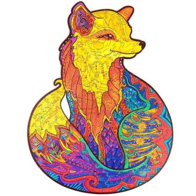 FOX WOODEN PUZZLE(Buy 2 Get 4 Free Random)