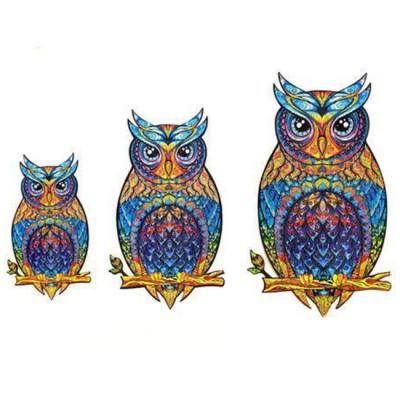 OWL WOODEN PUZZLE(Buy 2 Get 4 Free Random)