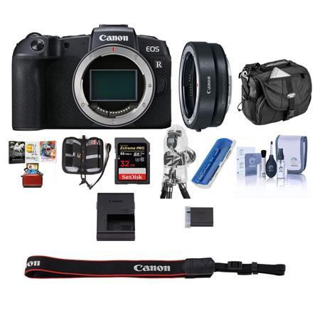 EOS RP Mirrorless Full Frame Digital Camera Body With Free Mac Acc Bundle
