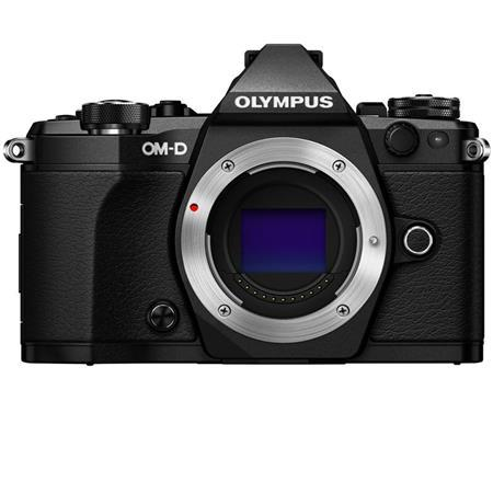 Olympus OM-D E-M5 Mark II Mirrorless Camera Body, Black
