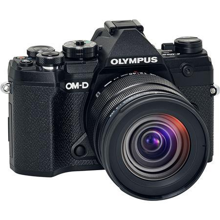Olympus OM-D E-M5 Mark III 21.8MP Mirroless Digital Camera with M.Zuiko Digital ED 12-45mm F4.0 PRO Lens, Black