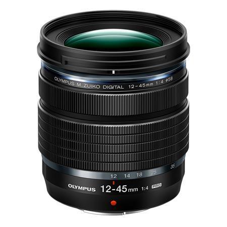 Olympus M.Zuiko Digital ED 12-45mm f/4.0 PRO Lens, Black