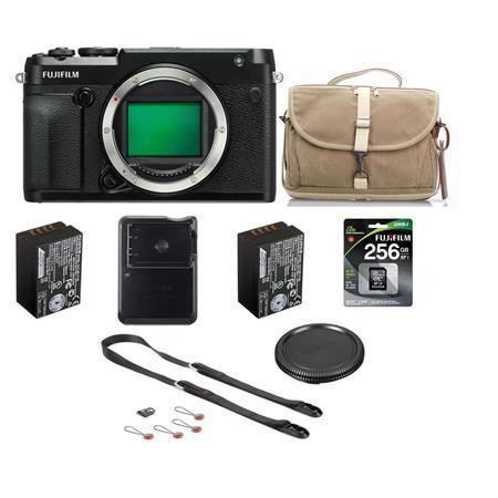 Fujifilm GFX 50R Medium Format Mirrorless Camera (Body Only) W/Accessory Bundle