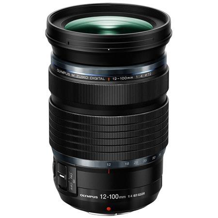 Olympus M. Zuiko Digital ED 12-100mm f/4 IS PRO Zoom Lens for Micro Four Thirds System, Black