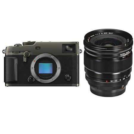 Fujifilm X-Pro3 Mirrorless Digital Camera, Dura Black = With XF 16mm F1.4 R (Weather Resistant) Lens