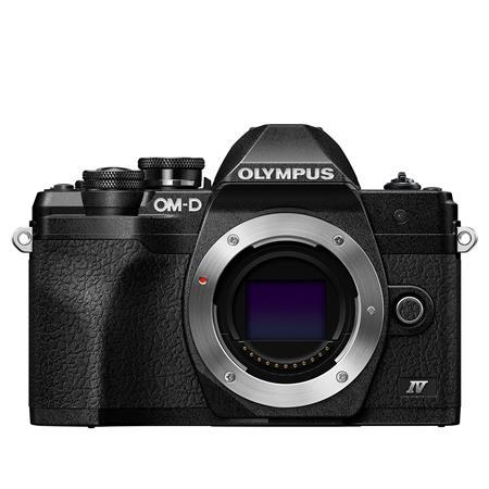 Olympus OM-D E-M10 Mark IV Camera Body, Black
