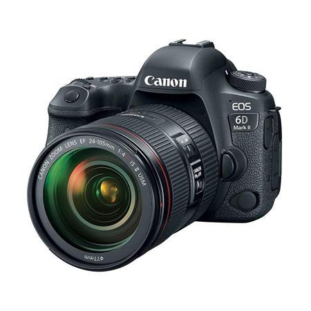 EOS 6D Mark II DSLR with EF 24-105mm f/4L IS II USM Lens