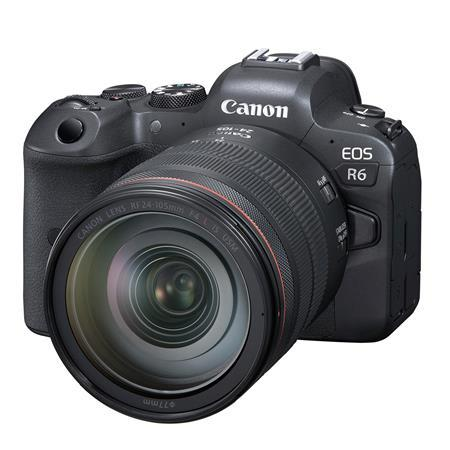 EOS R6 Mirrorless Digital Camera with RF 24-105mm f/4 L IS USM Lens