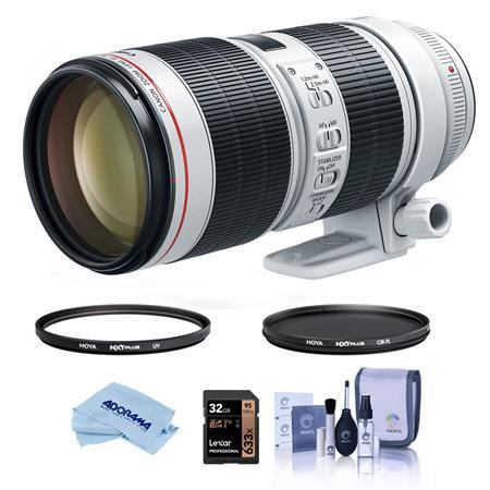 EF 70-200mm f/2.8L IS III USM Lens with Filter Bundle