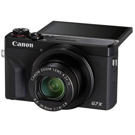 PowerShot G7 X Mark III 20.1MP Digital Point and Shoot Camera, 4.2x Optical Zoom, Black