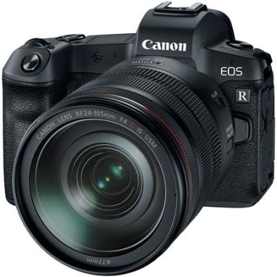 EOS R Mirrorless Digital Camera with Canon RF 24-105mm F4 L IS Lens