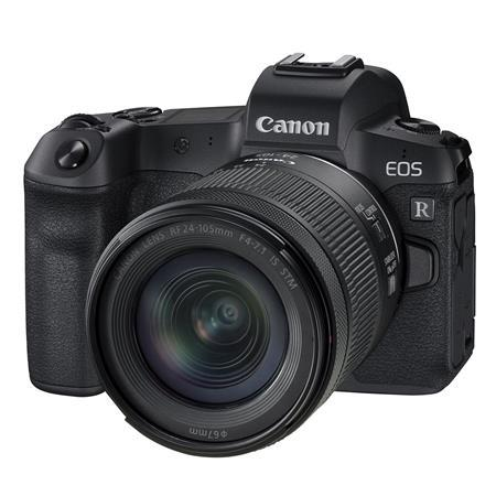 EOS R Mirrorless Digital Camera with RF 24-105mm f/4-7.1 IS STM Lens