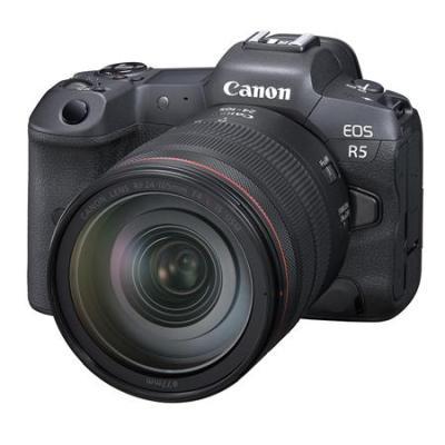 EOS R5 Mirrorless Digital Camera with RF 24-105mm f/4 L IS USM Lens