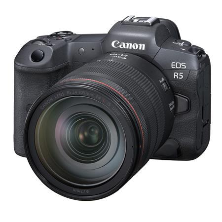 EOS R5 Mirrorless Digital Camera with RF 24-105mm f/4 L IS USM Lens