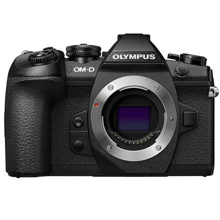 Olympus OM-D E-M1 Mark II 20.4MP Mirrorless Camera Body, Black