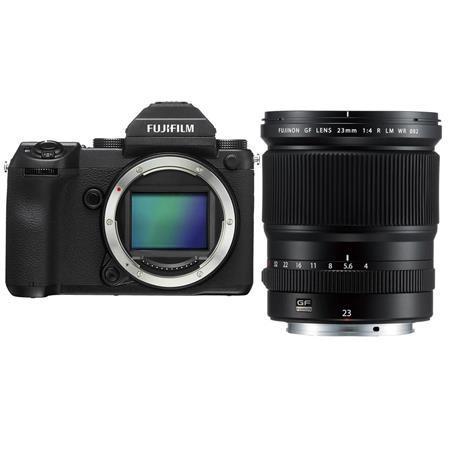 Fujifilm GFX 50S 51.4MP Medium Format Mirrorless Camera W/GF 23mm F/4 R LM Lens