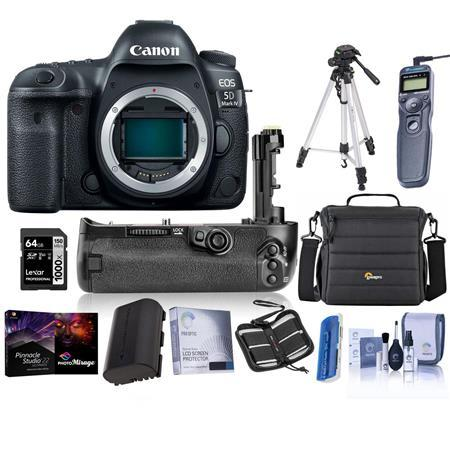 EOS 5D Mark IV DSLR Body with Premium Accessory Bundle
