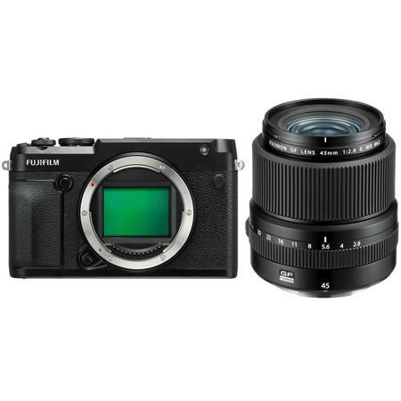 Fujifilm GFX 50R Medium Format Mirrorless Camera (Body Only) - With Fujifilm FUJINON GF 45mm F/2.8 R WR Lens