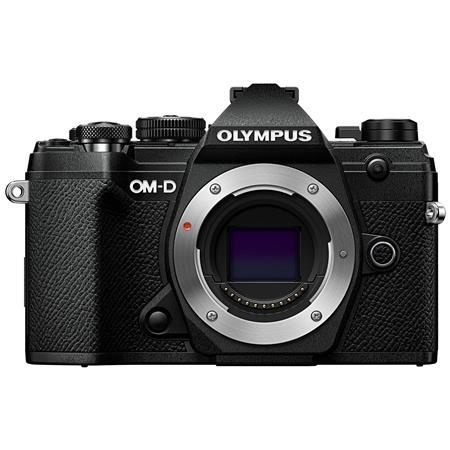 Olympus OM-D E-M5 Mark III Mirrorless Camera Body, Black