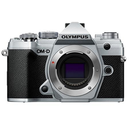 Olympus OM-D E-M5 Mark III Mirrorless Camera Body, Silver
