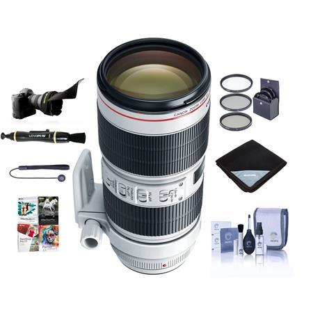 EF 70-200mm f/2.8L IS III USM Lens with Free Basic Accessory Bundle (PC)