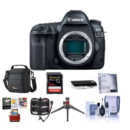 EOS 5D Mark IV DSLR Body With Free Mac Accessory Bundle