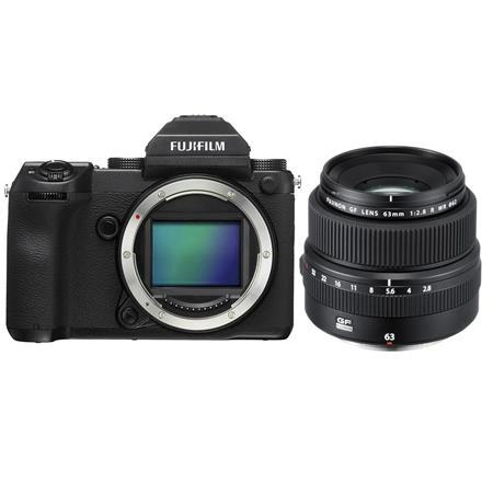 Fujifilm GFX 50S 51.4MP Medium Format Mirrorless Camera W/63mm F/2.8 R WR Lens