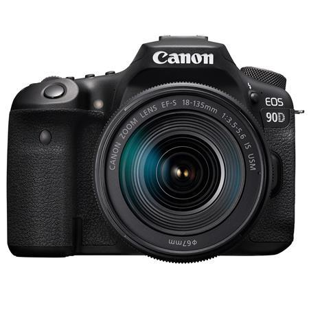 EOS 90D DSLR Camera with EF-S 18-135mm f/3.5-5.6 IS USM Lens