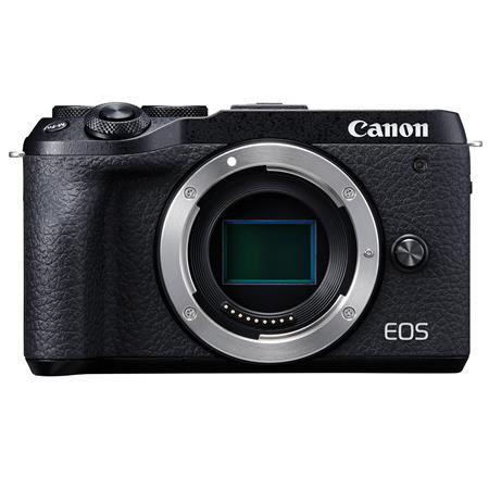 EOS M6 Mark II Mirrorless Digital Camera Body, Black