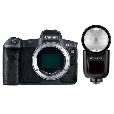 EOS R Mirrorless Digital Camera with Flashpoint Zoom Li-On X TTL Speedlight