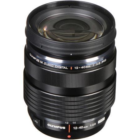 Olympus M. Zuiko Digital ED 12-40mm f/2.8 Pro Zoom Lens for Micro Four Thirds System - Black