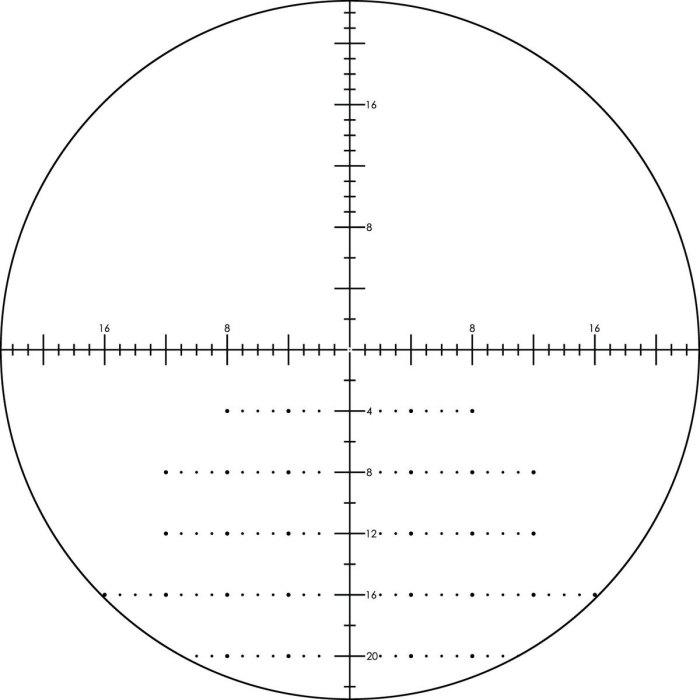 HSLR 6-24x50mm  Scope - XLR MOA