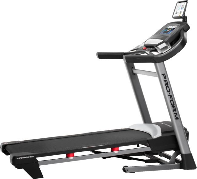Performance 600i Treadmill - Gray/Black